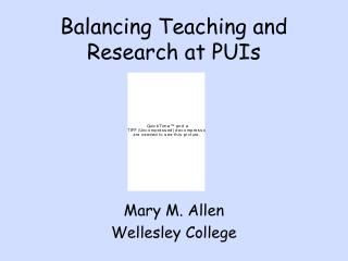 balancing teaching and research at puis