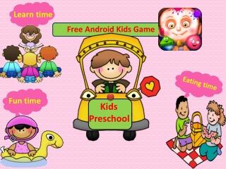 Kids Preschool Kids Game