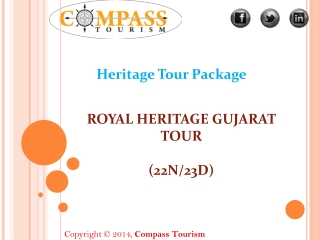 heritage tour packages for Gujarat