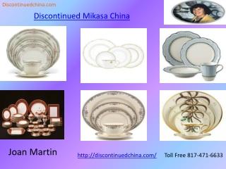 Discontinued China- Discontinued Mikasa China | Discontinued
