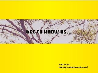 cresttechnosoft - Get to know us