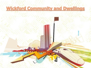 Wickford Community and Dwellings