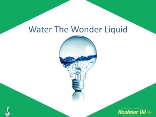 Water The Wonder Liquid