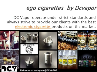 ego cigarettes