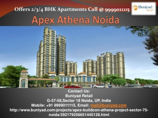 Apex Buildcnon New Residential launch - Apex Athena