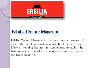 Find latest information about Erbil projects