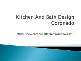kitchen and bath design coronado