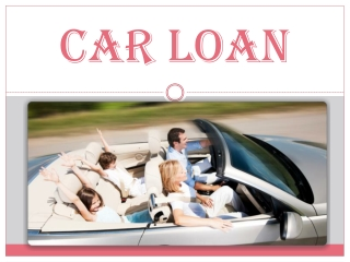 Car Loan At Lower Interest Rate