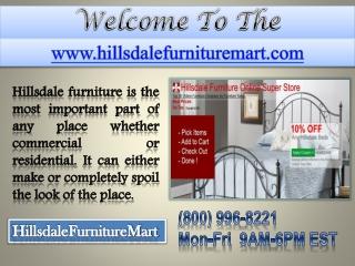 Hillsdale Furniture - Hillsdale Wilshire - Hillsdale Norwood