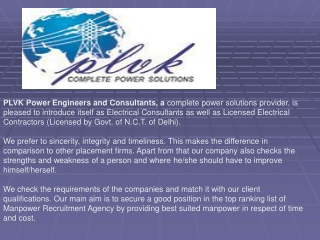 Electrical Contractor and Transformer Supplier in Delhi Indi