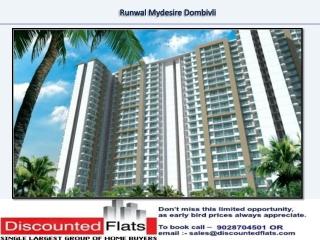 Runwal Mydesire Dombivali Mumbai