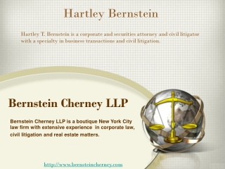 Hartley Bernstein and Bernstein Cherney