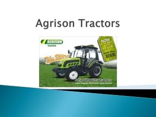 Agrison Tractors