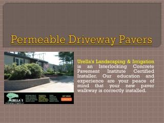 Driveway Brick Pavers