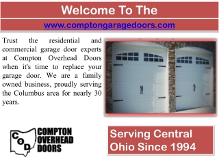 Garage Door Opener In Columbus - Garage Door Repair - Overhe