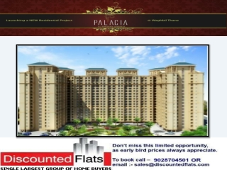Palacia Waghbil Thane Mumbai by Madhav Shreeji Group