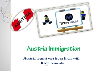 Austria tourist visa from India with Requirements