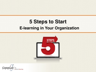 5 Steps to Start eLearning in Your Organization