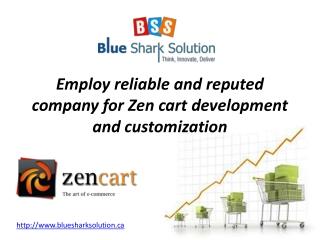 company for Zen cart development and customization