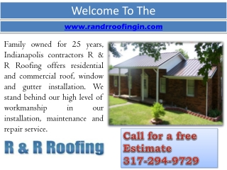 Roofing Contractor In Indianapolis - Gutter Installation