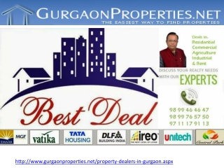 Property Dealers in Gurgaon