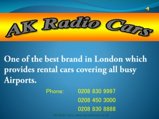 Gatwick Airport Transfer Service - Minicabs in London