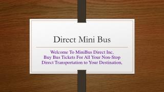 Buy Bus Tickets to New York Online to Roam around the City -