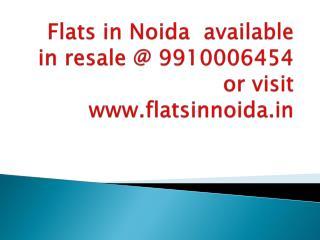 flats in noida, flats in Noida resale