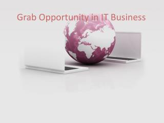 Grab Opportunity in IT Business