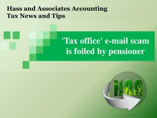 Hass and Associates Accounting Tax News and Tips: 'Tax offic