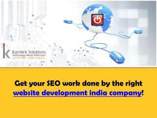 website development companies india