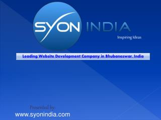 Leading Website Development Company in Bhubaneswar, India