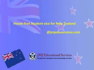 Hassle free Student visa for New Zealand
