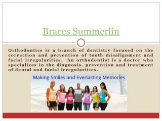 Orthodontist Summerlin