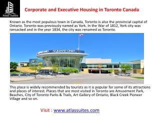 Toronto Corporate Housing