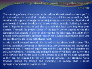 personal injury attorneys san antonio