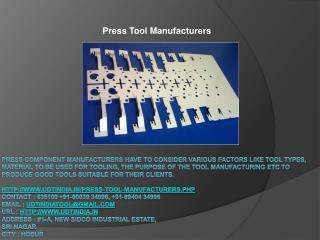 Tool Makers India-udtindia