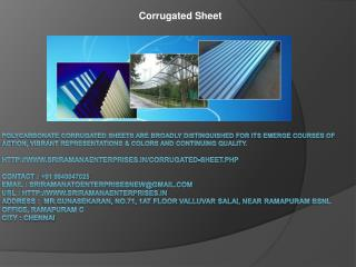 Lexan Polycarbonate Sheets,