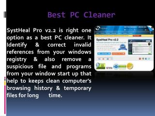 Best PC Cleaner Software