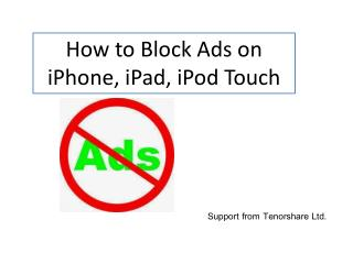 How to Block Ads on iOS Apps
