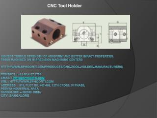 CNC tool holder manufacturers