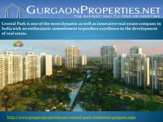 Central Park in Gurgaon