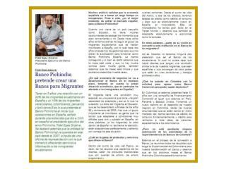 Entrevista a Fidel Egas: Banco Pichincha pretende crear una