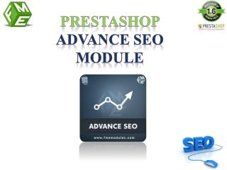 FMM's PrestaShop Search Engine Optimization Module
