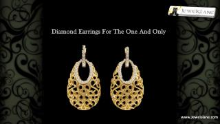 In India Diamond Earrings are Most Preferred