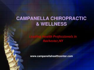Best Chiropractic Services in Rochester, NY
