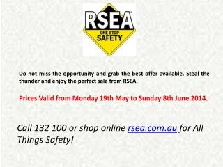 Work Safety Boots from RSEA
