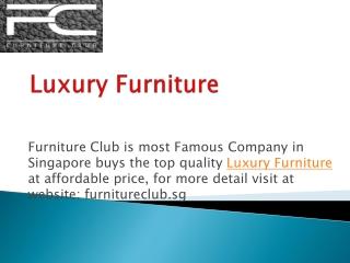 Customised Modern Sofa Furniture Store in Singapore