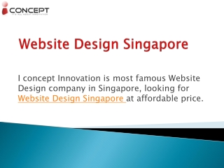 Affordable Creative Website Design Service in Singapore