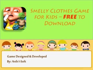 Smelly Clothes Game for Kids - FREE to Download